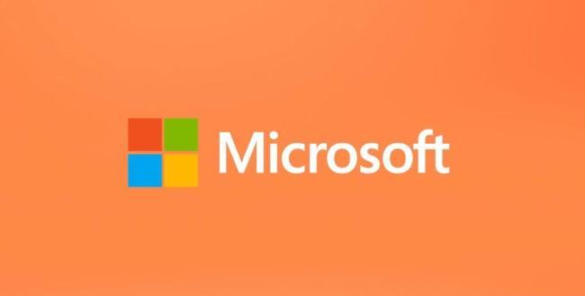 Microsoft Logo Header