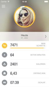 Runtastic Me App Screenshots (4)