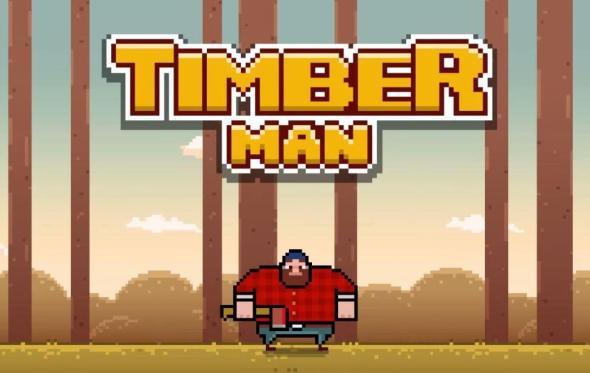 Timberman Header