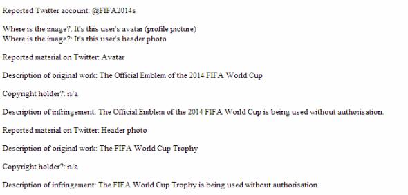 Twitter FIFA WM 2014