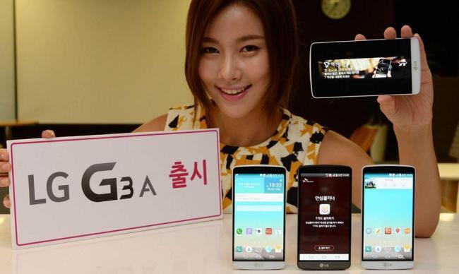 LG G3 A PR Tante