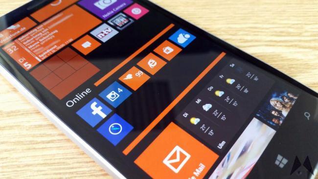 Lumia 930 WP 8.1 Developer Preview Update