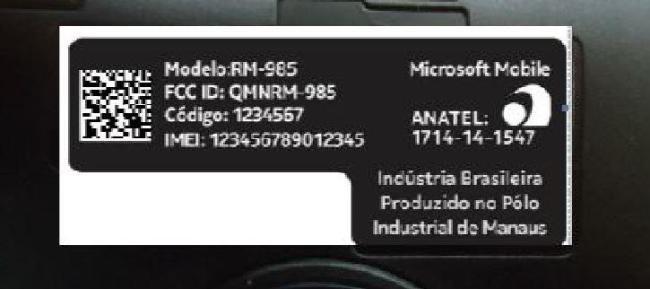 Microsoft Mobile Schriftzug