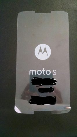 Motorola Moto S Displayschutzfolie