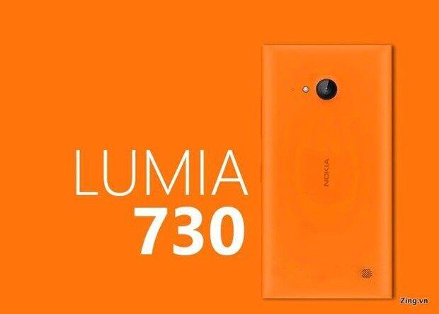 Nokia Lumia 730 Render