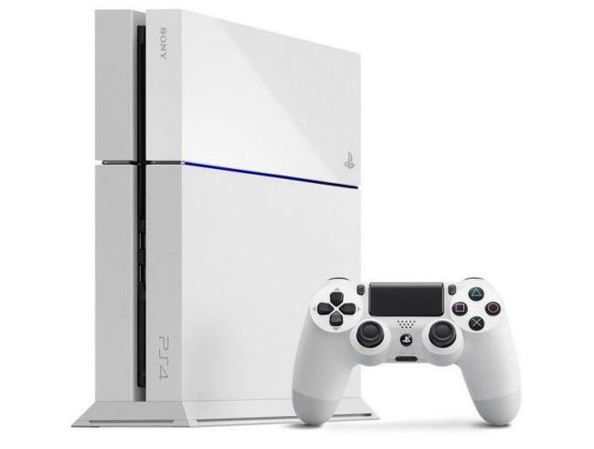 PlayStation 4 Weiß