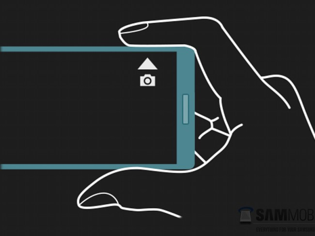 Galaxy Note 4 Side Touch