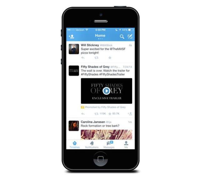 Twitter Video Werbung Header