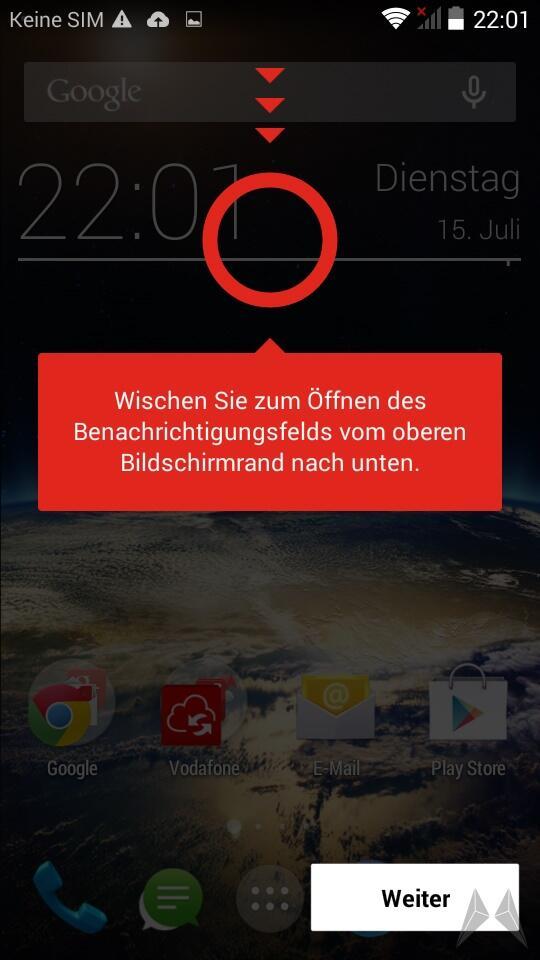 Vodafone Smart 4 Power Screen (2) 2