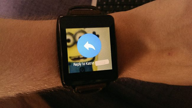 WhatsApp Beta Android Wear