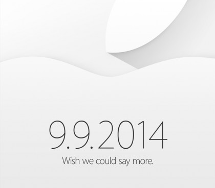 apple event spet 14