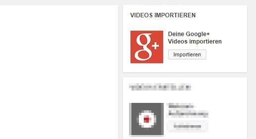 youtube google plus