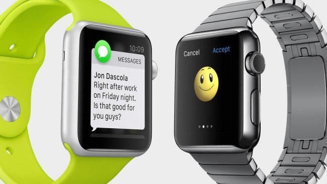 Apple Watch Nachrichten