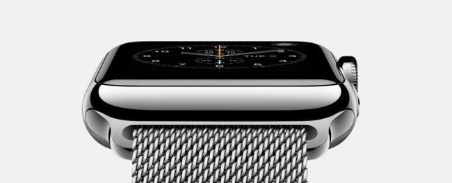 Apple Watch Uhr Header