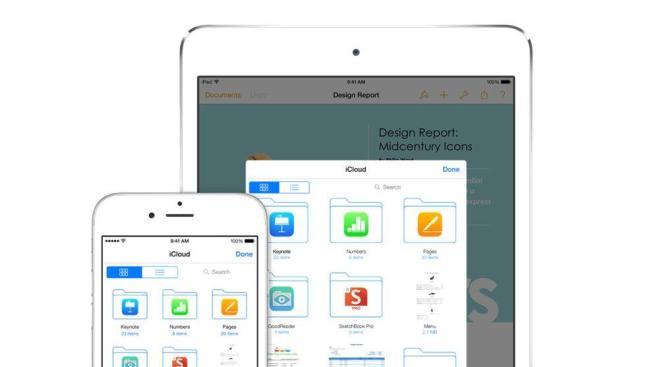 Apple iCLoud Header