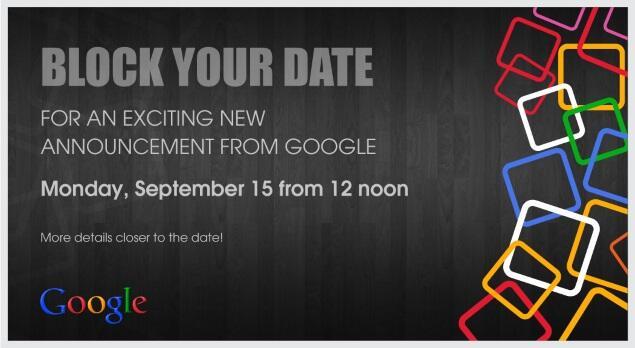 Google Einladung Indien