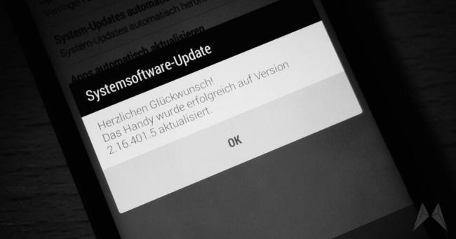 HTC One mini 2 Update