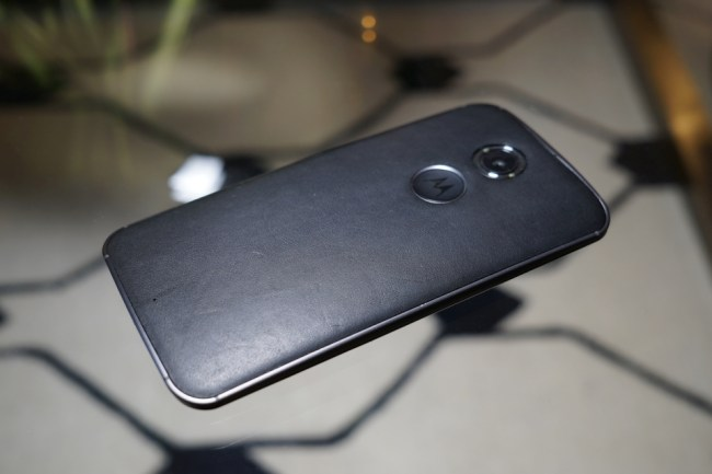 Moto x 2nd back leather