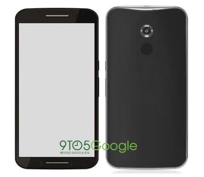 Motorola Shamu Nexus Mockup