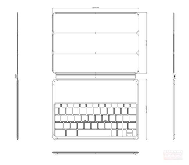 Nexus 9 Tastatur Details