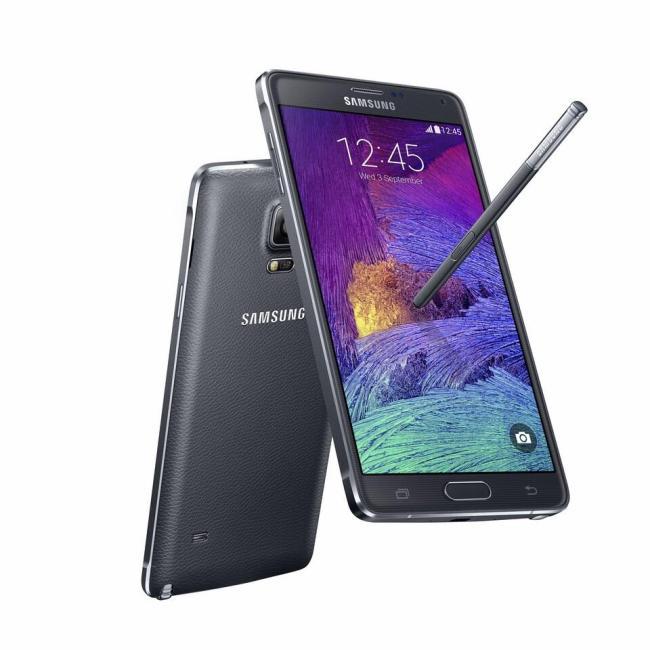 Samsung Galaxy Note 4 Schwarz