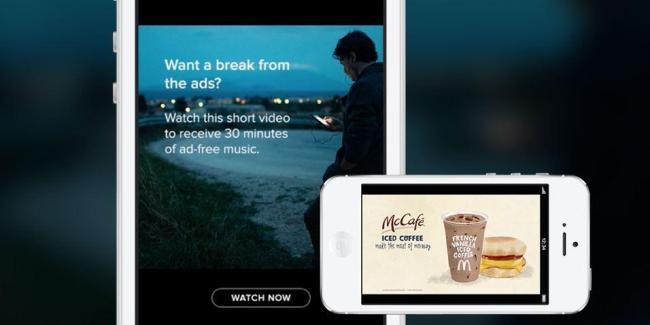 Spotify Video Werbung