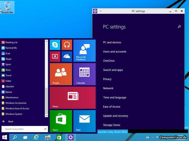 Windows Tech Preview 1
