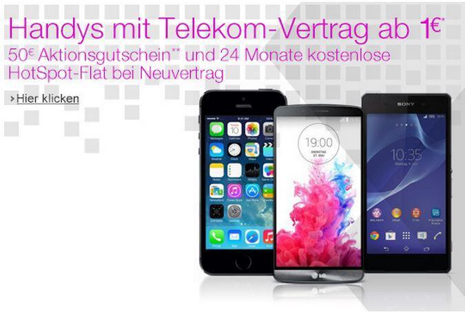 smartphone mit vertrag d1