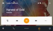 Medienplayer beim Abspielen von Musik mit Bedienelementen