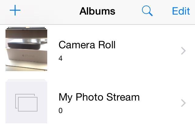 camera roll ios 8_1