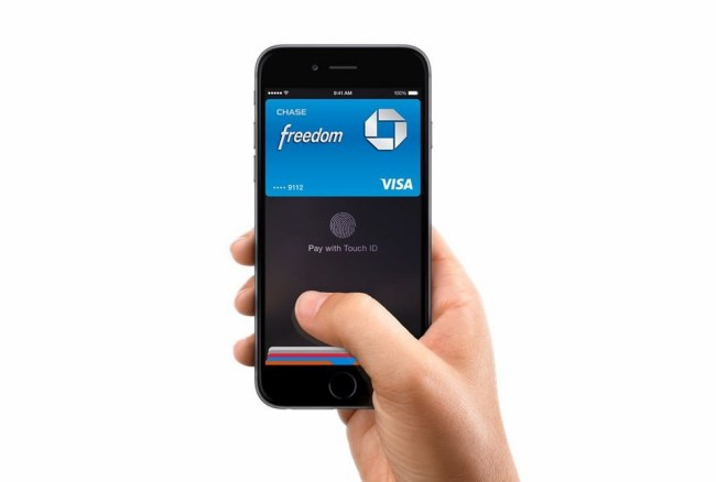 iPhone 6 Apple Pay Header