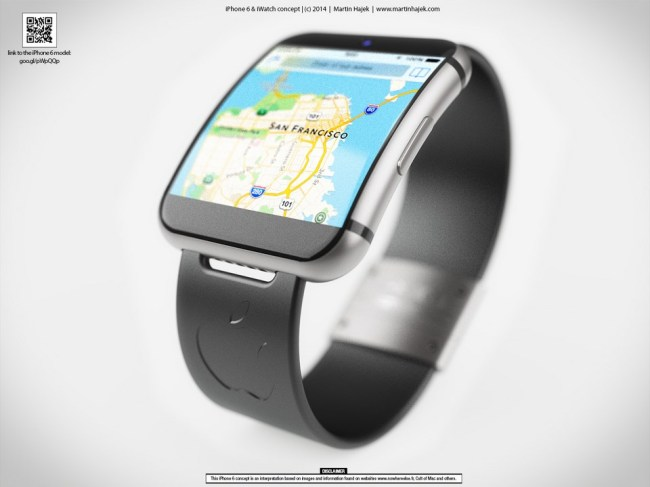 iWatch Konzept Header