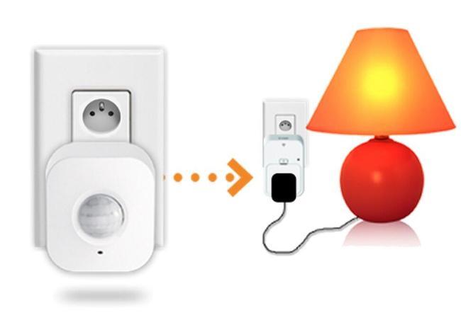 mydlink home motion sensor lampe