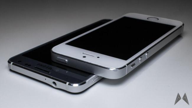 samsung galaxy alpha iphone 2