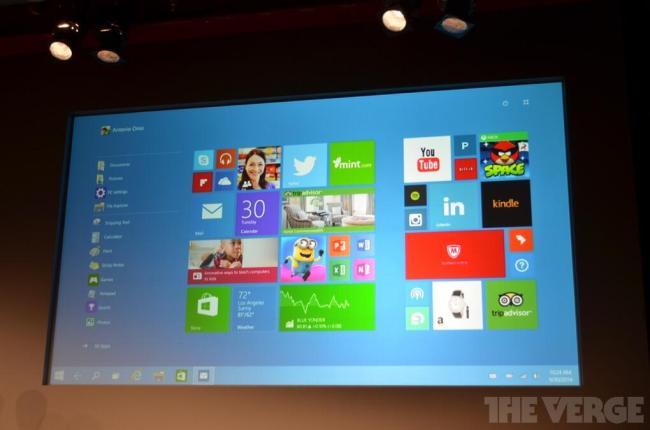 windows 10 startscreen