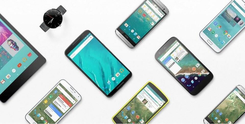 Google Android Header