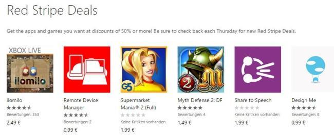 Microsoft Red Stripe Deals 40-2014