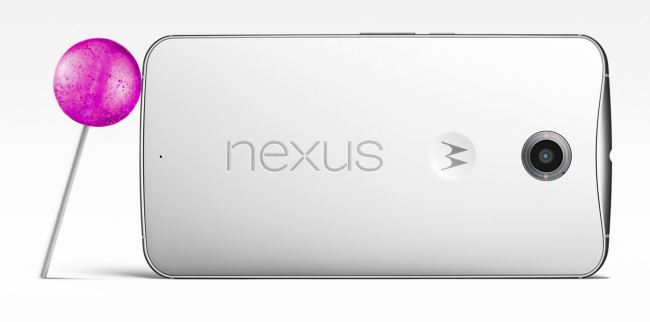 Nexus 6 Lollipop