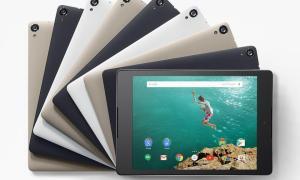 Nexus 9 Farben