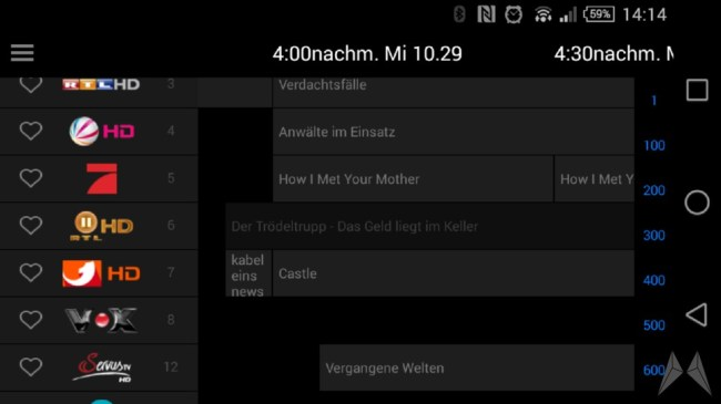 OneForAll Smart Zapper EPG 2014-10-29 13.14.07