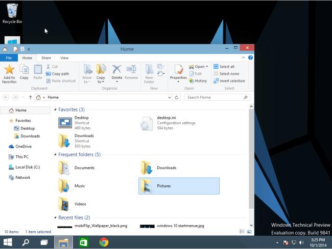 windows 10 buttons