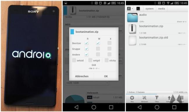 Android Bootanimation