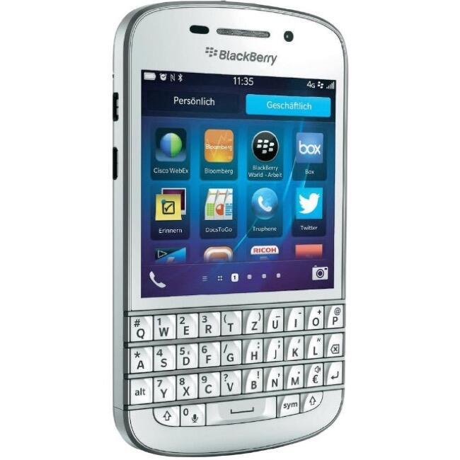 BlackBerry Q10 für 158,50 Euro