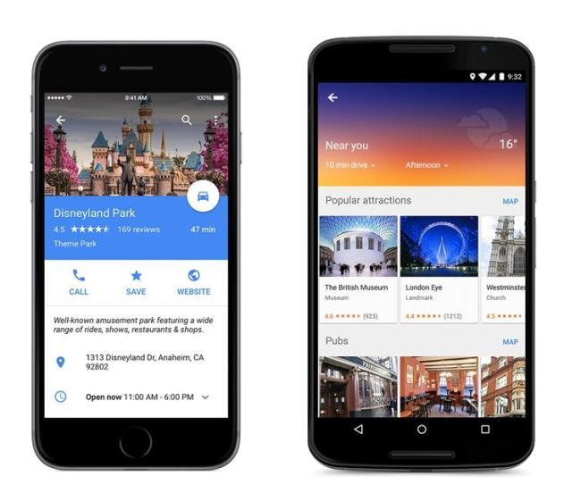 Google Maps Update Geräte