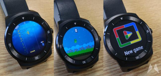 LG G Watch R Games