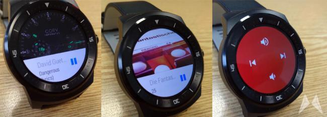 LG G Watch R Musik