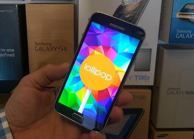Samsung Galaxy S5 Lollipop Deutschland