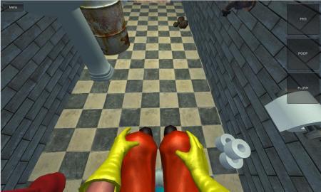 VR Touletten Simulator