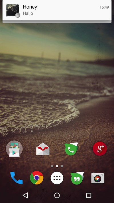 WA Lollipop Screen