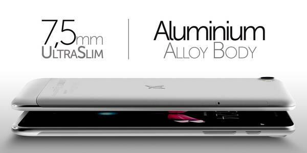 allview h7 aluminium body